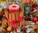 Свеча в декоре