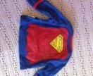 Наряд супермена на новорожденного