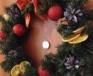 Венок новогодний на заказ