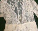 Свадебная накидка на платье