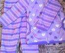 Флисовый костюм для девочки