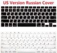 Силиконовая защита  для клавы чёрная и прозрачная)