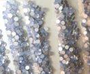 Стразы опал голубые