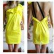 Платье атласное с подкладкой