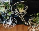 Подставка для цветов - ручная работа