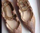 Туфли- балетки Bershka новые
