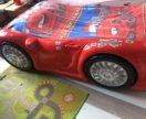 Кровать-машина 3D с комодом