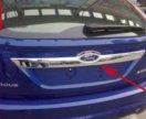 Молдинг задний для Форд Фокус 2 хетч. Рестайлинг