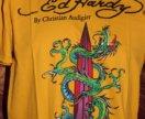 Новая футболка Ed Hardy размер XL