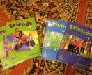 Учебники + тетрадки по английскому