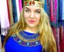 Украшение Ожерелье Нефертити на шею