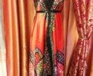 Новое женское платье шелк