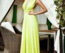 Платье трансформер лимонное