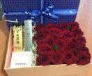 Коробочка с цветами и подарками !!!!
