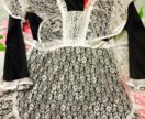 Продам фартук,платье на последний звонок