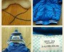 Куртка(Глория Джинс)+шапка+шарф на 2-4г.