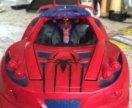 Машинка с фигуркой человека-паука
