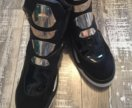 Versace Techno Gold Panneled Sneakers