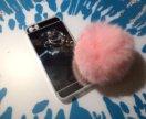 Чехол с помпоном iPhone 5/5s