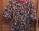 Платье яркое,приталенное,длина 80см
