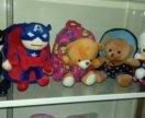 Детские рюкзаки с мягкой игрушкой