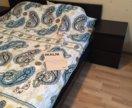 Кровать Ikea malm 160x200 + матрас