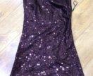 Платье из паеток