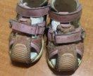 Закрытые сандали bartek