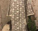 Халат с тапочками много домашней одежды в профиле