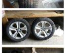 Разно широкие диски с резиной для BMW X6 X5