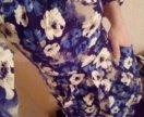 Платье в цветочек 42-44