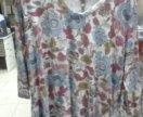 Блузка трикотажная большого размера