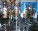 Стаканы из богемского стекла