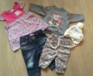 Вещи на девочку до 6 месяцев