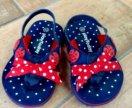 Летние сандалики для малышки