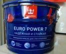 Краска  для стен  и потолков  9 л. EURO-7