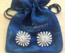Серьги Emblem с кристаллами Swarovski