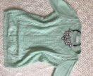 Мятный свитер 52-54