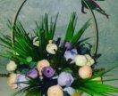 Цветочные композиции для интерьера