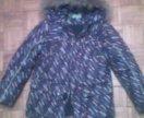 Куртка зимняя на 9-11 лет