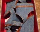 Шикарные джинсовые босоножки👠