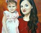 Портреты и открытки ручной работы