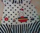 Платье-туника на 1-1,5 года
