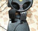 Руль с педалями Thrustmaster