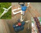 Водопровод, канализация, септики