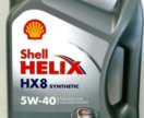 Shell helix HX8 Synthetic SN/CF 5W40, 4 л