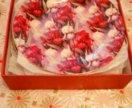 Набор тарелок тарелки фарфор