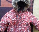 Куртка kerry зимняя + полукомбинез,шлем, варежки.