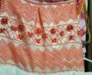 Платье праздничное бальное розовое