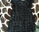 Платье в пайетках, рост 130-140